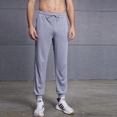 范斯蒂克长裤 MBF9231 灰色束脚长裤,时尚简约