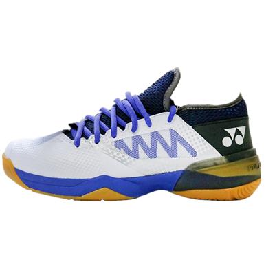 YONEX尤尼克斯羽毛球鞋 SHB-CFZ2WEX 男女款 白藍 林丹新款戰靴,CFZ二代寬版,超減震