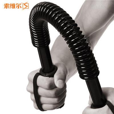 索维尔 电镀弹簧臂力棒30kg40扩胸50臂力器锻炼臂肌锻炼60握力棒健身器材
