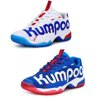 薰風Kumpoo羽毛球鞋 光輪D72 網紅鞋 男女同款 白/藍