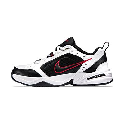 耐克NIKE跑步鞋 AIR MONARCH IV M2K 男子运动鞋 415445-101 白/黑/校园红