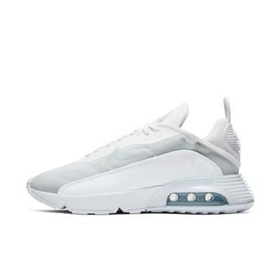 耐克NIKE跑步鞋 AIR MAX 2090 男子运动鞋 BV9977-100 白色/白色/狼灰/白金色/反射银