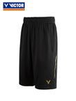胜利VICTOR短裤 R-85200C 韩国国家队大赛款 中性 黑色