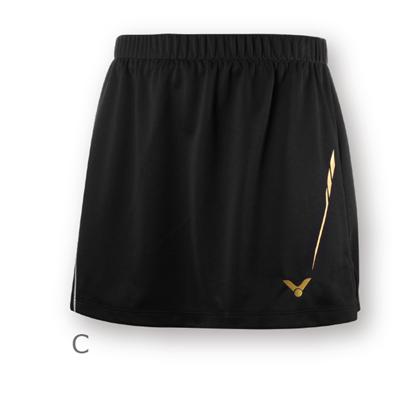 胜利VICTOR短裙 K-86300C 韩国国家队大赛款 女款 黑色
