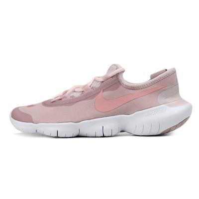 耐克NIKE跑步鞋 FREE RN 5.0 女子运动鞋 CJ0270-600 香槟色/釉粉/微玫瑰红