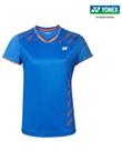 尤尼克斯YONEX羽毛球服 210040BCR 女款 短袖 蓝色