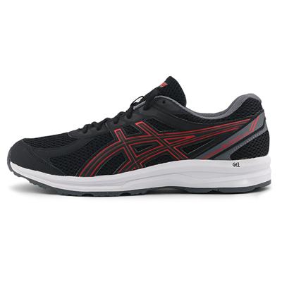 亚瑟士ASICS跑步鞋 GEL-BRAID 男款 黑武士缓震型跑鞋 1011A738-002 黑色