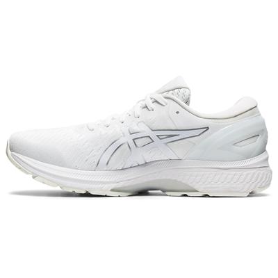 亚瑟士ASICS跑步鞋 GEL-KAYANO 27 男款 K27稳定型跑鞋 1011A767-101 白色