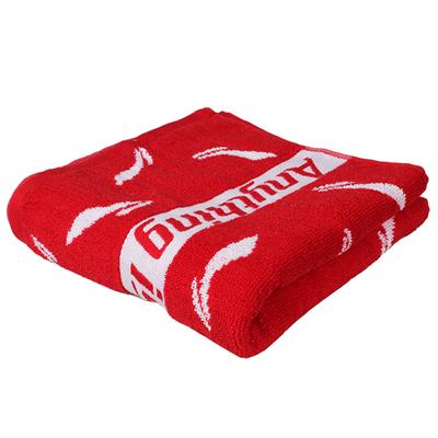 李宁运动毛巾 纯棉吸汗羽毛球毛巾 AMJM034-1 红色