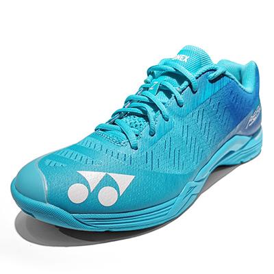 尤尼克斯YONEX羽毛球鞋 SHBAZMEX超轻4代男款羽毛球鞋 薄荷蓝(第4代超轻战靴,启动更迅猛)
