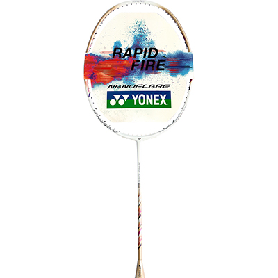 尤尼克斯YONEX羽毛球拍 疾光 NFSS白金 超轻进攻速度型羽毛球拍NF-SS 日本产新品上市