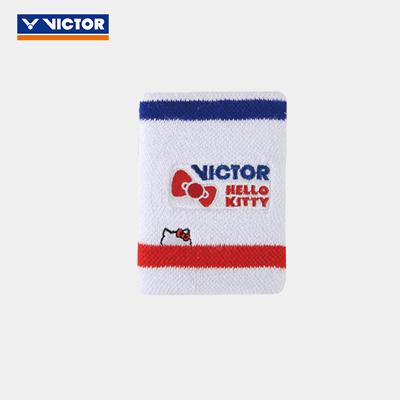 胜利VICTOR羽毛球护腕 SP-KT 漂白 凯蒂猫联名运动护腕 HELLO KITTY纪念限量系列