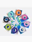 YONEX尤尼克斯AC102C超级拍柄手胶(黏性手感,一卡三条装)