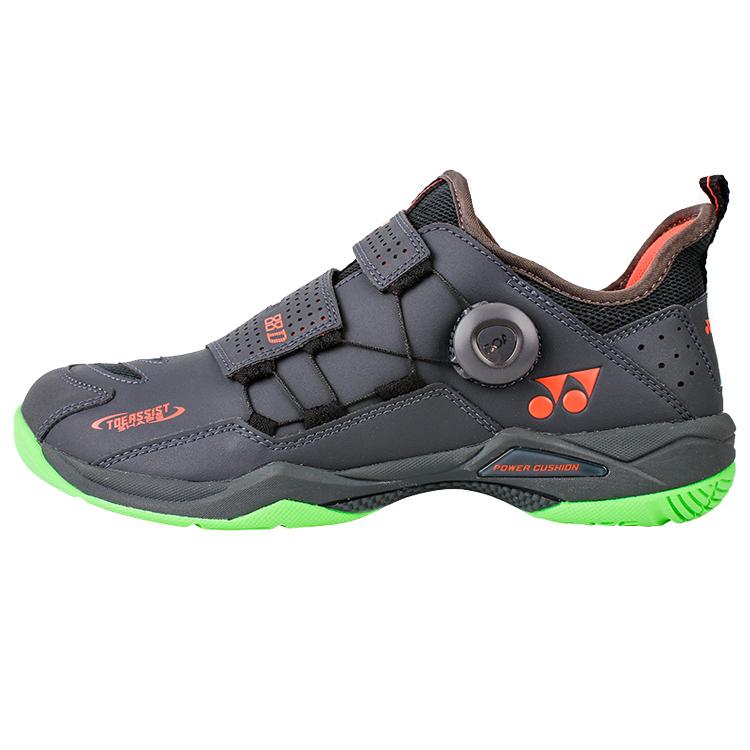 尤尼克斯YONEX羽毛球鞋 SHB88DEX 灰色男/女款 BOA快速系带包裹更出色国家队赞助品牌