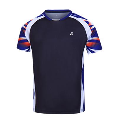 【特惠爆品】波力BONNY圆领短袖T恤 1CTM19022男款运动短袖 烟灰色