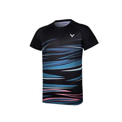 威克多胜利VICTOR羽毛球T恤 T-10031C男女款针织T恤