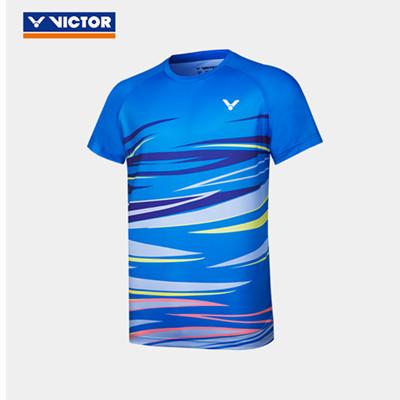 威克多胜利VICTOR羽毛球T恤 T-10031M男女款针织T恤