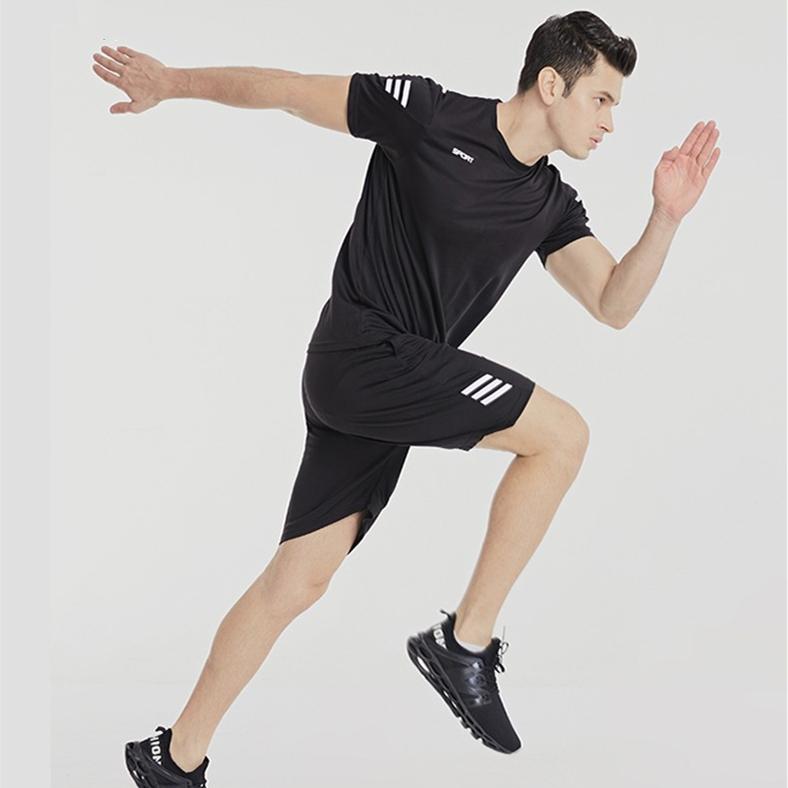 范斯蒂克运动套装 MBF20055 男款 短袖短裤套装 适合各项运动 五套颜色可选