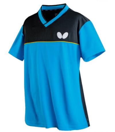 蝴蝶butterfly乒乓球服 BWH-830-0214黑彩蓝