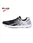 多威Dowin跑步鞋体育专用中考运动鞋男女学生训练鞋体能测试鞋锋芒3代 CT8601A 黑白色