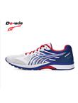 多威Dowin跑步鞋新款战神2代训练鞋男女马拉松竞速跑步运动鞋 MR90201D 白红蓝