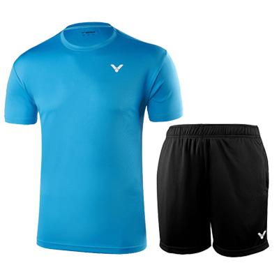 胜利羽毛球套装 T-90022M+R-6299C 男款性价比之选