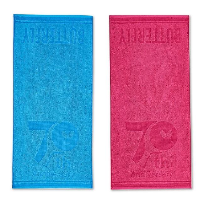 蝴蝶Butterfly WTT-114-16/03 70周年运动毛巾