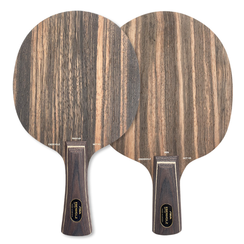 斯帝卡STIGA 黑檀王7乒乓球拍底板(黑檀7) ,陈玘用黑檀七底板,专为无机时代设计,纯木底板中的暴力