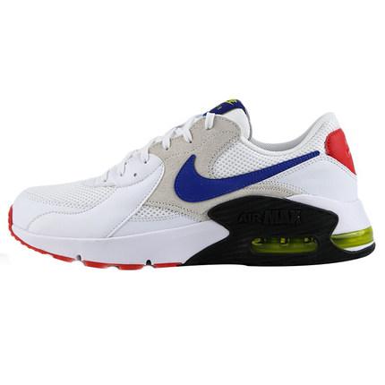 Nike耐克 男子AIR MAX EXCEE气垫跑步鞋休闲运动鞋 白色/超蓝CD4165-101