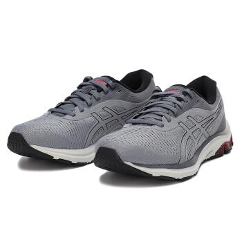 Asics亚瑟士GEL-PULSE 12男子运动鞋轻质透气休闲鞋子耐磨减震跑步鞋 灰色1011A844-022