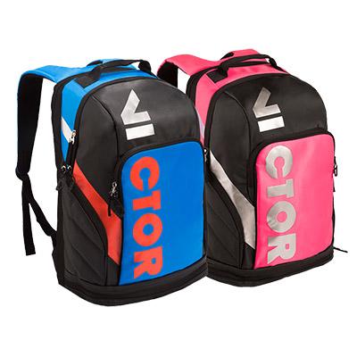 威克多胜利VICTOR羽毛球包 BR8008双肩带独立鞋袋球包(超大容量,帅到炸)