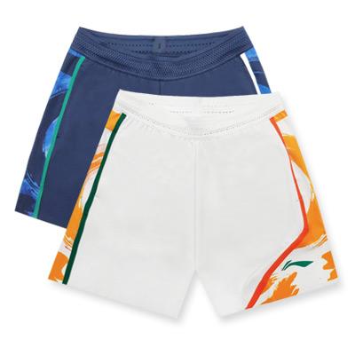 李宁羽毛球短裤 AAPR065 男款比赛运动短裤 苏迪曼杯汤尤杯大赛款 两色可选