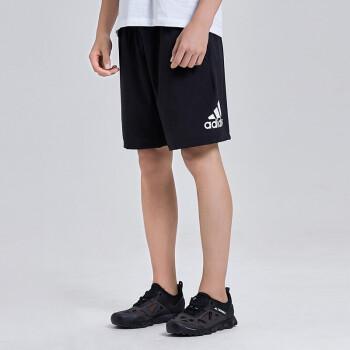 Adidas阿迪达斯 男款运动裤跑步训练健身舒适快干透气休闲五分裤DV1029