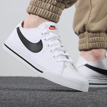 Nike耐克 男款夏季新品运动休闲鞋透气舒适防滑耐磨低帮滑板鞋 CW6539-101