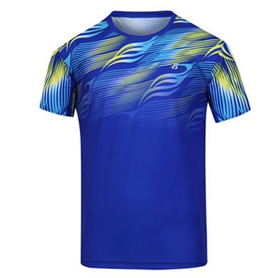波力Bonny 运动T恤 1CTM19007 男款蓝比赛短袖T恤(流星飞龙,光速超越)