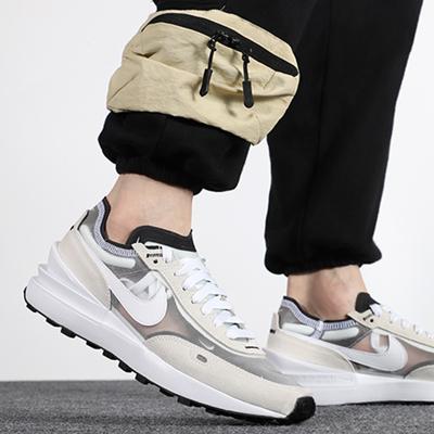 NIKE耐克 男款新品运动鞋复古时尚耐磨舒适轻便透气板鞋休闲鞋 DA7995-100