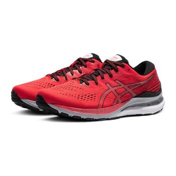 ASICS亚瑟士GEL-KAYANO 28男子跑鞋21新款K28缓震稳定支撑跑步鞋 1011B189-600 红黑色