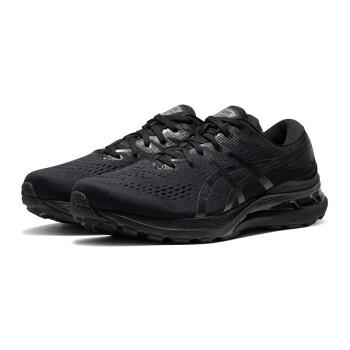 ASICS亚瑟士GEL-KAYANO 28男子跑鞋21新款K28缓震稳定支撑跑步鞋 1011B189-001 黑武士