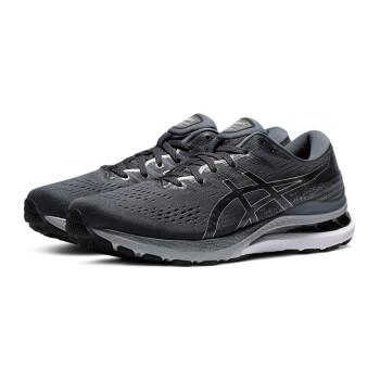 ASICS亚瑟士GEL-KAYANO 28男子跑鞋21新款K28缓震稳定支撑跑步鞋 1011B189-021 灰黑色