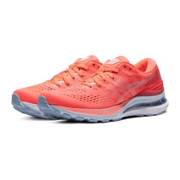 ASICS亚瑟士GEL-KAYANO 28跑鞋女子跑鞋21新款K28缓震稳定支撑跑步鞋 1012B047-700 粉红色