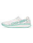 多威dowin跑鞋男女夏季荧光跑LIGHTRUN减震透气跑步运动鞋 MT31201B白/绿