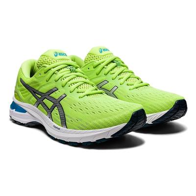 【优个会员立减50】ASICS亚瑟士 男款GT-2000 9代稳定支撑缓震专业马拉松跑步鞋 绿色1011A983-300