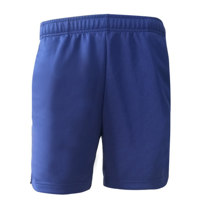 李宁羽毛球短裤 AAPR381-5 男款蓝色运动短裤 高弹速干面料 透气舒适