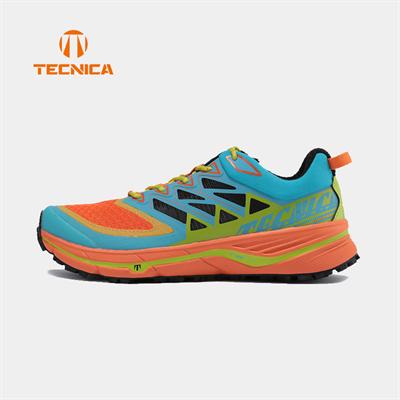 TECNICA泰尼卡男越野鞋雷电INFERNO3轻便稳定透气户外鞋越野跑鞋 天蓝色