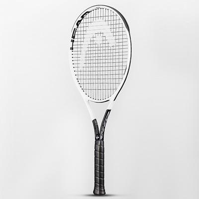 HEAD海德网球拍(234020) Graphene360+Speed MP LITE 黑白 275G 16*19 德约科维奇L5石墨烯小德专业网球拍