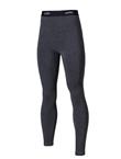 UTO悠途蓄能款女士单裤咖啡碳保暖长裤秋冬保暖秋裤 黑灰色