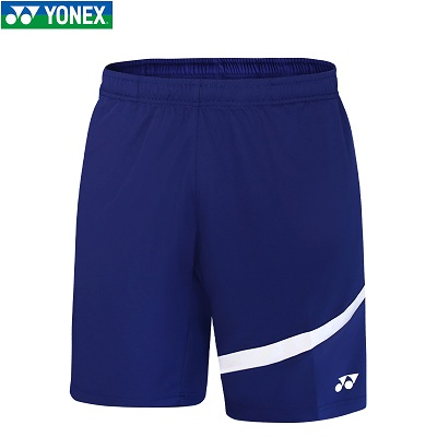 尤尼克斯YONEX羽毛球服 120201BCR-629 藏青色男士运动短裤 速干面料 吸汗速干 透气干爽