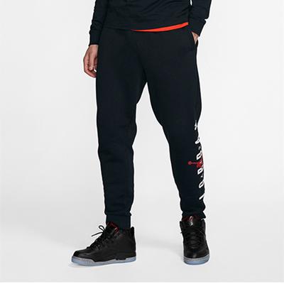 Nike耐克运动裤男裤秋季新款Jordan时尚休闲针织束脚收口长裤 CK1451-010