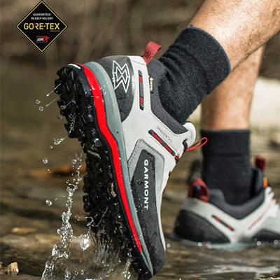 意大利GARMONT 嘎蒙特 龙尾 男式低帮户外徒步登山鞋Dragontail Tech GTX防水透气专业徒步鞋