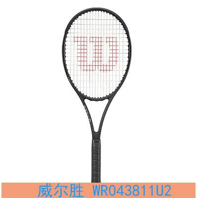 Wilson威尔胜网球拍 WR043811U2 pro staff 97 V13 TNS(ps97 )315g 费德勒网拍 男女小黑拍